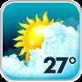 icon Animated Weather Widget, Clock