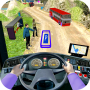 icon Modern Bus : Drive Parking 3D