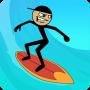 icon Stickman Surfer