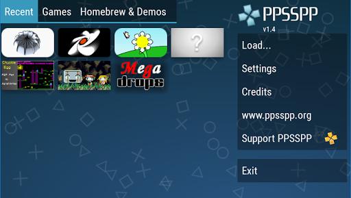 PPSSPP - емулятор PSP