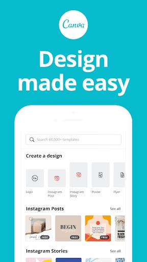 Canva: Графічний дизайн, відео, Запрошення та створення логотипів