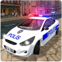 icon Real Police Car Driving