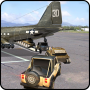 icon Cargo Fly Over Airplane 3D