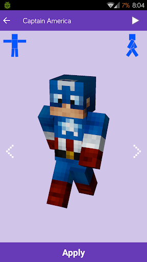 Скіни для Minecraft: MineSkins
