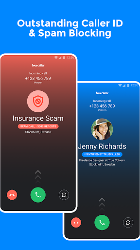 Truecaller: ідентифікатор абонента та дзвінок