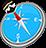 icon com.quranreading.qibladirection 6.0